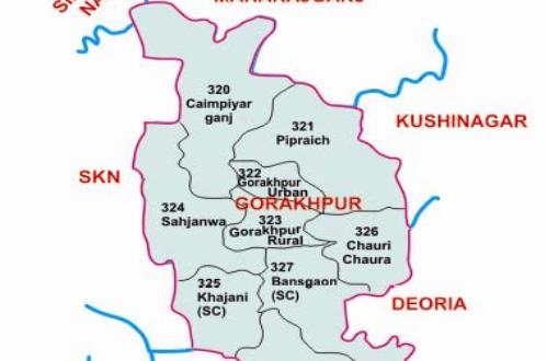 map-gorakhpur