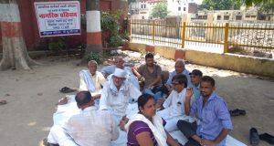 gorakhpur men protest